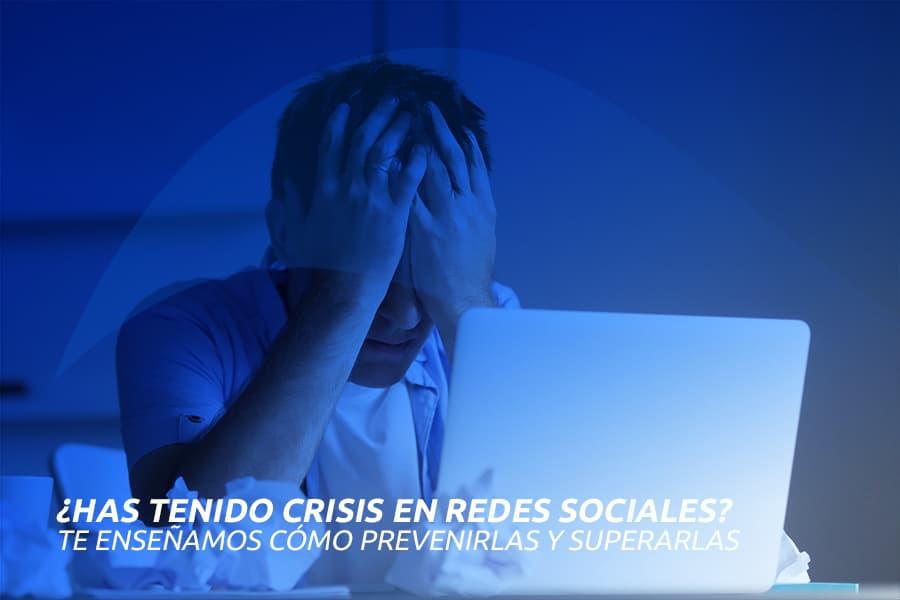 ¿haz tenido crisis en redes sociales?